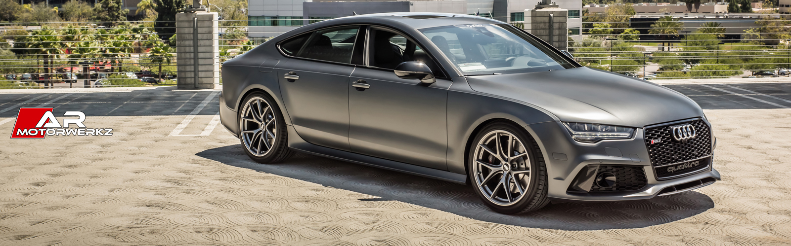 Audi S7 Matte Grey Bbs Ci R Ar Motorwerkz