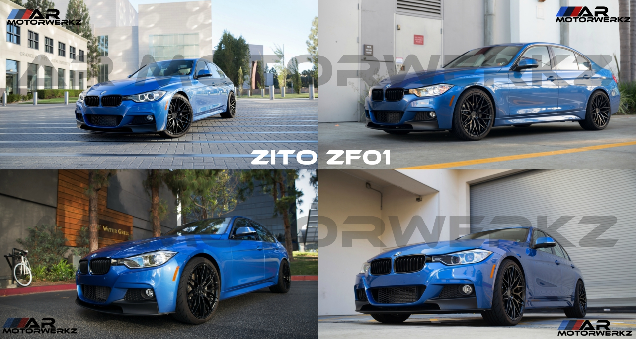 Bmw F30 Zito Zf01 Collage Ar Motorwerkz