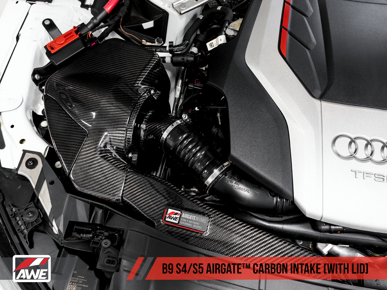 awe airgate carbon intake for the audi b9 s5 s4. Black Bedroom Furniture Sets. Home Design Ideas