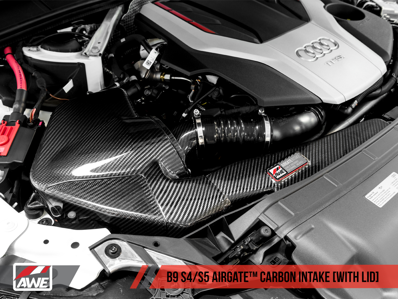 Check Engine Light On And Off >> AWE AirGate™ Carbon Intake for the Audi B9 S5 / S4