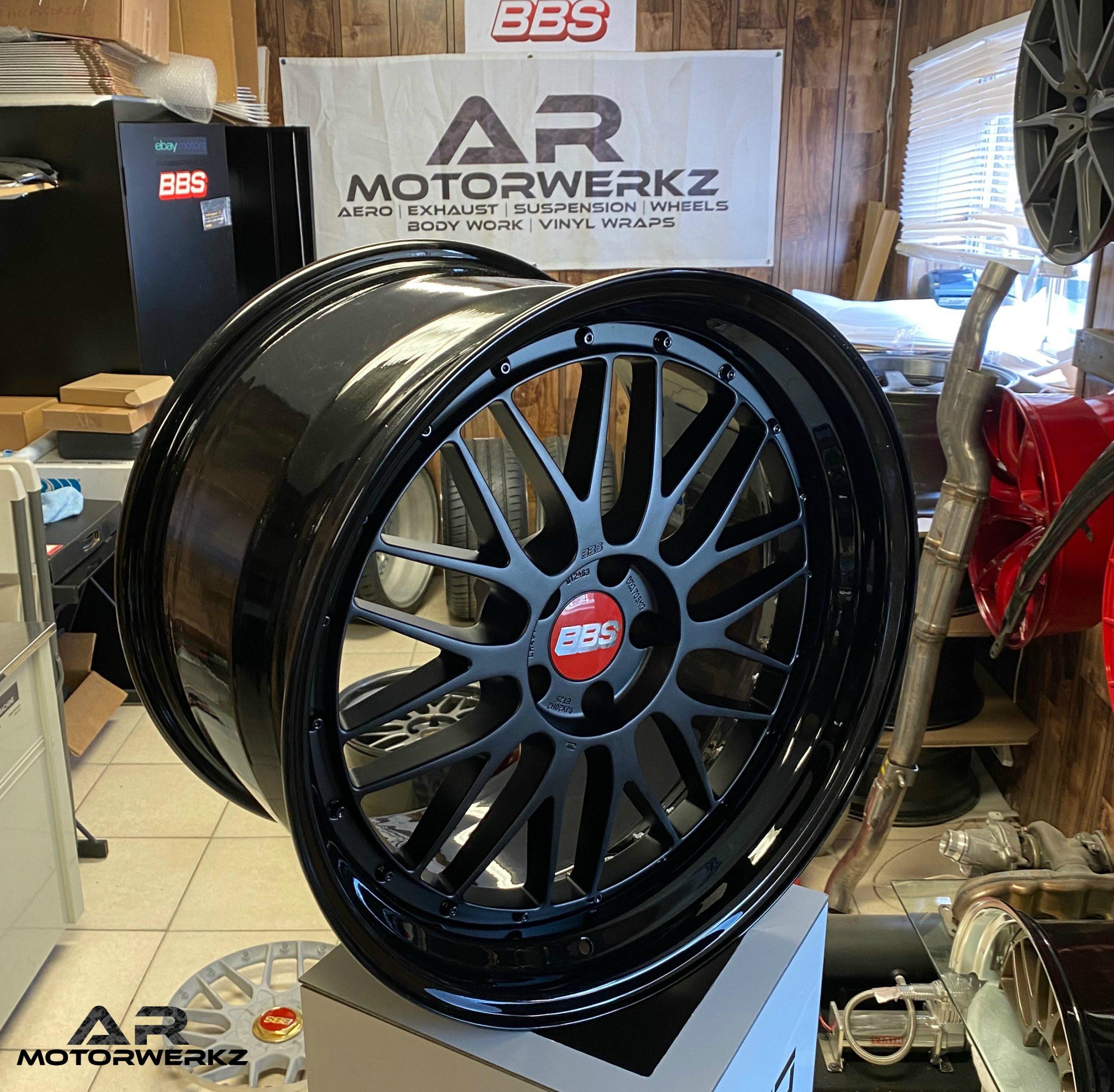 Audi Bbs Lm Gloss Black Satin Black Ar Motorwerkz