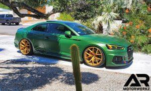 Audi B9 RS5 - Green - Gloss Sun gold ZITO ZF05 2
