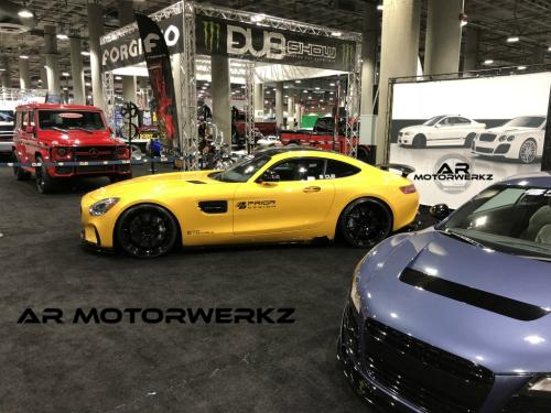 mercedes benz amg class gts amggts zito zf02 wheels prior design body kit la auto show