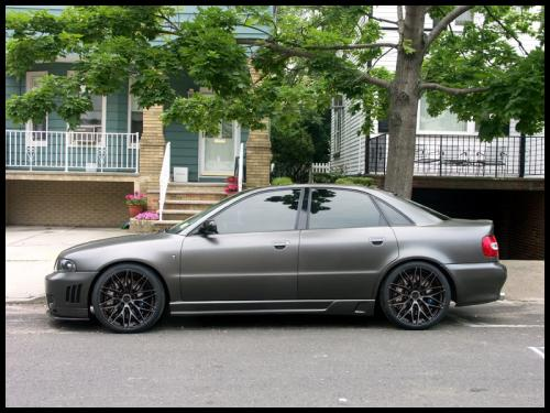Audi B5 A4 S4 Zito ZF01 Brushed Tinted Render Concave Wheels Forged Flow Forme
