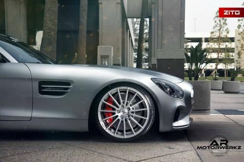 Mercedes Benz AMG GTS on Zito ZS15