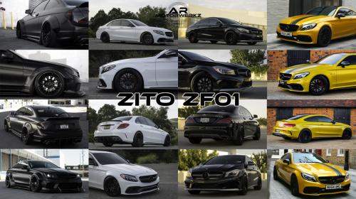 Mercedes Benz C63 AMG CLA45 AMG CLA45 AMG ZITO ZF01
