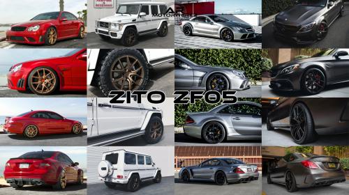 Mercedes Benz CLK63 C63 SL G Wagon AMG ZITO ZF05